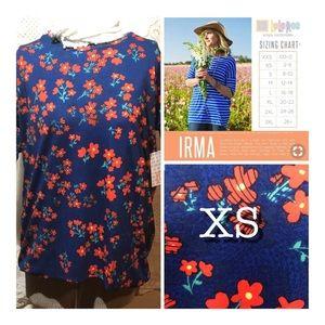 LuLaRoe Irma Tunic Size XS Brand New